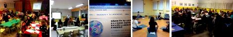 Fotos de las diferentes sesiones de la Escuela Emprende 21 (CEIP Núñez de Arenas, noviembre de 2015)